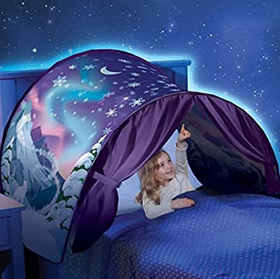 Kids Tent Mosquito Net ,YOYOUG Hot Kids Pop Up Bed Tent Playhouse Winter Wonderland - inexpensive UK light store.