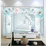 Mural wallpaper Custom 3D Wallpaper Modern Mural Wallpaper For Bedroom Wallpaper Fashion Stair Tunnel Background Wall Papers Home Decor Living Room,150cmX105cm