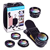 Best Macro Lens - APEXEL Deluxe Universal 5 in 1 Clip-On Camera Review