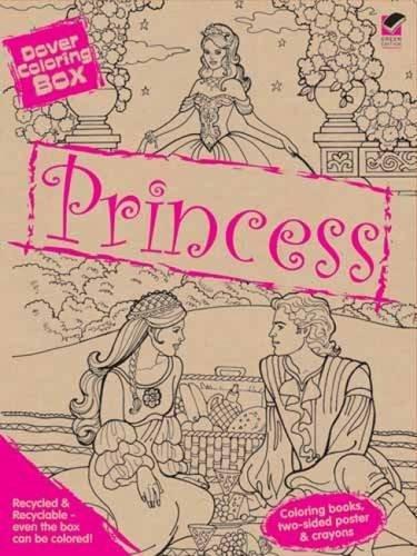 Dover Princess Coloring Box Kit (Dover Fun Kits) by Dover (2011-07-19)