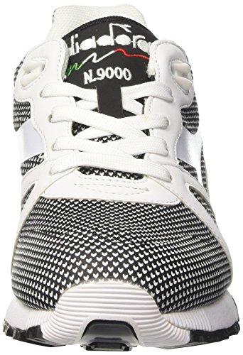 Diadora N9000 Arrowhead, Sneaker a Collo Basso Unisex – Adulto Bianco  (Bianco Ottico/ ...