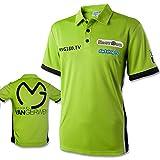 Polohemd - Dartshirt - Wettkampfshirt MVG - Michael van Gerwen - vers.Größen (XXS)