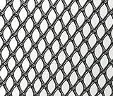 Nutley 's 5x 1m hochfesten Windschutz Netz-Schwarz