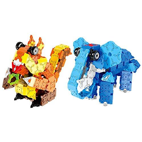 WEofferwhatYOUwant Juego Construccion . Rompecabezas Puzzles 3D . Elefante Y Ardilla. Juguetes...