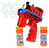 181 Express Train Locomotive Battery Operated Toy Bubble Blowing Gun w/ Light