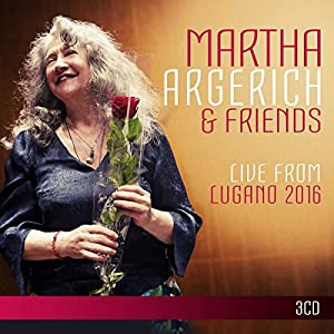 Martha Argerich & Friends: Live from Lugano Festival 2016 from Warner Classics