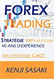 FOREX TRADING STRAT�GIE 100% SUCC�S: Ma stratégie C.ACT, Vivre de la Négociation et Obtenir un Salaire Mensuel, Trader à Temps Plein avec Plus de 40 Ans d'Expérience
