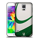 Head Case Designs Rugby Palle Da Collezione Cover Retro Rigida per Samsung Galaxy S5 / S5 Neo