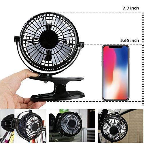 Zoom IMG-2 mini ventilatore usb con clip
