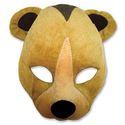 Bristol Novelty em361Bär Maske mit Sound auf Haarreif, -