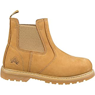 Amblers Safety Mens AS175 Goodyear Welted Pull On Safety Dealer Boots