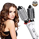 Brosse Soufflante Rotative, 3 In 1 Hair Dryer Brush, Brosse Coiffante, Multi-Fonction...