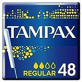 Tampax Cardboard Regular Mega Pack, 48 Tampons