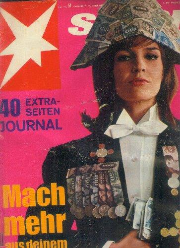 STERN Zeitschrift Illustrierte Magazin Heft-Nr. 51 vom 17. Dezember 1967 Mach mehr aus deinem Geld; 40 Extraseiten Journal;Prinzessin Beatrice soll entmündigt werden;Ein Pfarrer verpraßte Kirchengelder