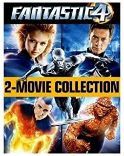 Fantastic Four/Fantastic Four - Rise Of The Silver Surfer [2005] [DVD] by Ioan Gruffudd (B000TQLJJG) | Amazon price tracker / tracking, Amazon price history charts, Amazon price watches, Amazon price drop alerts