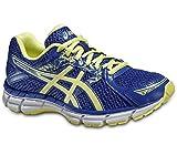 ASICS Damen Gel-Oberon 10 Sneaker, blau/gelb, 39 EU