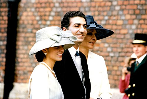 vintage-photo-of-farah-pahlavi-with-his-son-reza-and-his-wife-yasmin-at-the-wedding-of-prince-pavlos