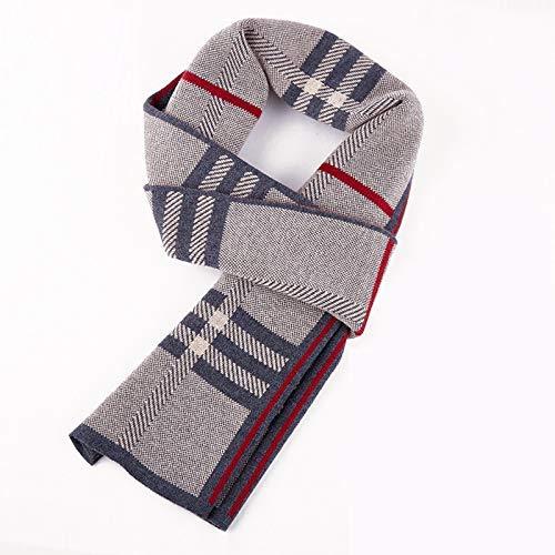 FERZA Home Hommes Réversible Cozy Wrap Warm Classic Warm Warm Warm Cachemere Foulard Doux pour l'automne-Hiver, Mode de Haute qualité.