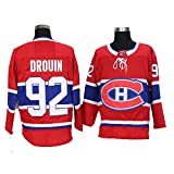 Yajun Jonathan Drouin#92 Montreal Canadiens Hockey Maillot Jerseys sur Glace NHL pour Homme Vêtements Sweatshirts Respirant T-Shirt