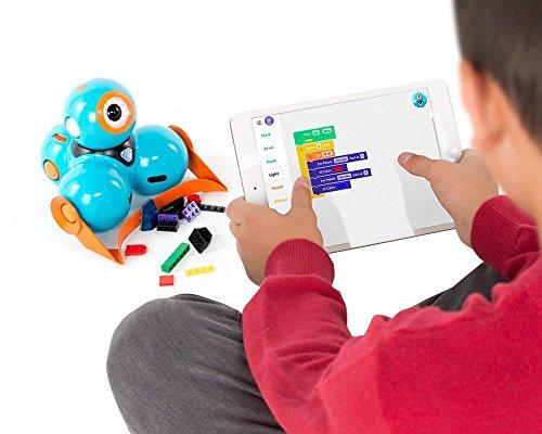 51b5DpvTttL - Wonder Workshop - Pack de accesorios para sus robots educativos Dash y Dot, color naranja (AC01)