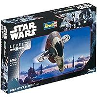 Revell Modellino di Star Wars Boba Fett S Slave I, scala 1: 160, Level 3, Riproduzione fedele all' originale con molti dettagli, facile da incollare e dipingere, 03610