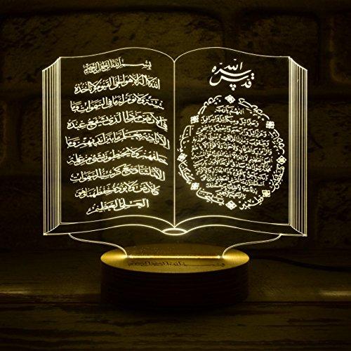 Kur'an-ı Kerim , Kuran i Kerim , Islam , Quran , Koran , Islam Dekoration , Allah , Elif Kuran , Mevlid , Deko-Leuchte , Kreatives Nachtlicht , Lampe mit Foto , Fotogeschenke , Nachttischlampe , Lasergravur , Liebeserklärung , Valentienstag , Foto in Acrylglas , Kisiye özel , nikah , söz , evlenme teklifi , evlilik , Damat , gelin , Hediyelik , 3D-Laser-Gravur , Stimmungslicht , Das perfekte Geschenk , LED Lampe , Ayet el Kursi , Yasin