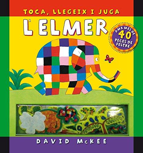 Toca, llegeix i juga (L'Elmer. Llibre regal): (Inclou peces de filtre)