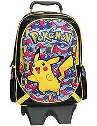 "Pokemon mc-231-pk 43cm ""Trolley con extraíble, diseño de Pikachu con Pokeballs"" Mochila"