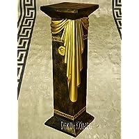 Säule Medusa Mäander Style Dekosäule Säulen Tisch Regal Barock 80cm 1038 108 top