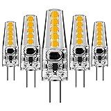 Pursnic Ampoule à LED G4-2W / 220LM, équivalent d'ampoules halogènes 20W, Blanc...