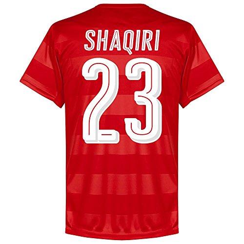 Schweiz Home Trikot 2016 2017 + Shaqiri 23 (Fan Style) - S