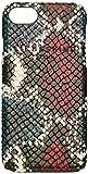 Liebeskind Berlin Damen Dobbyi7s7 Taschenorganizer, Mehrfarbig (Multi Colored Snake), 7x14x1 cm , sortiert