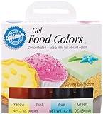 Gel Food Coloring Set 4/Pkg-Easter