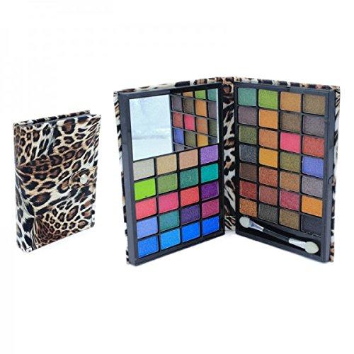 Paleta sombras ojos-48colores-espejo & aplicadores-Design-ref35103