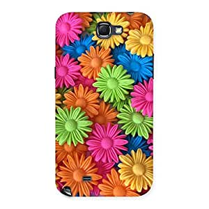 Cute Art Sunflower Print Back Case Cover for Galaxy Note 2