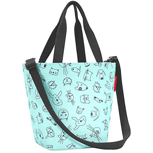 reisenthel shopper XS kids cats and dogs mint Maße: 31 x 21 x 16 cm / Volumen: 4 l