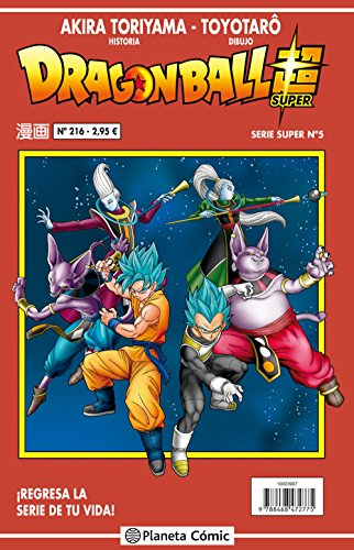 Dragon Ball Serie Roja Nº 215/216