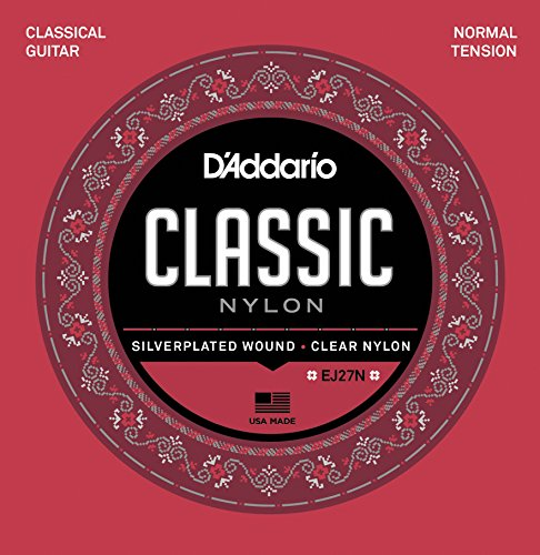 D'Addario EJ27N Satz Nylonsaiten für Konzertgitarre - Normal Tension
