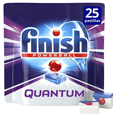Finish Lavavajillas Quantum Mo - 25 Pastillas