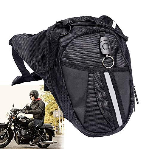 Sport Beintasche,Motorrad Pack Gürteltasche Beinbeutel Mode Beintasche Multi Pack Leg Drop Utility Bag Security Bein-Geldgürtel zum Sport Reisen Klettern Radfahren und Joggen