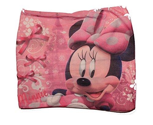 Disney minnie mouse sciarpa fascia con maschera da ritagliare bianco taglia unica