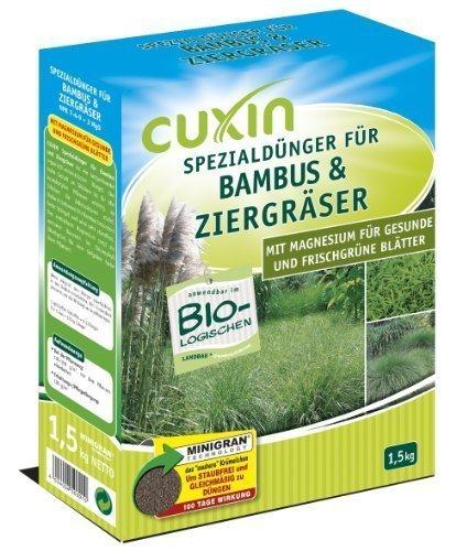 Cuxin Spezialdünger für Bambus und Ziergras, 1,5 kg