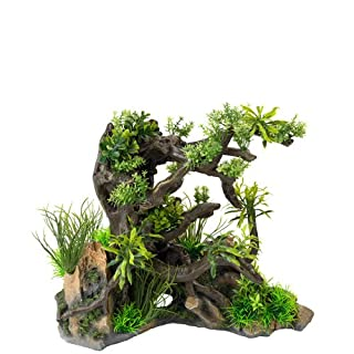Aqua Della Aquascape Aquarium Decoration, 40.5 x 24.5 x 34 cm, Combo 1