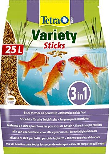Tetra Pond Variety Sticks - Aliment Complet en sticks...
