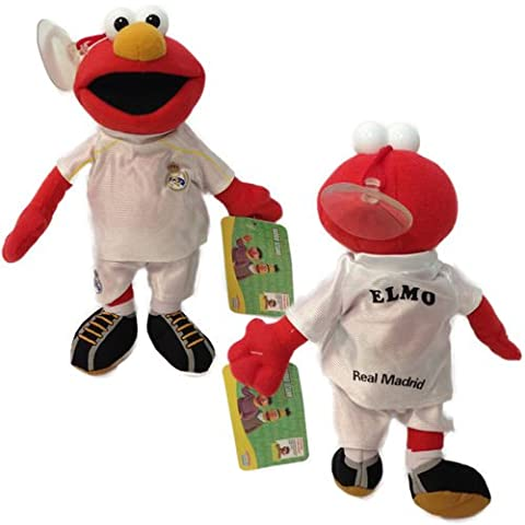 Sesame Street Elmo Official Licensed Real Madrid Soft Toy