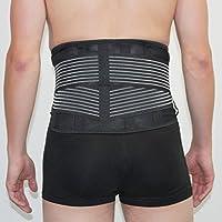 Lendenwirbelsäule- & Rücken-Bandage. Stabilisiert, schont und stützt den Lendenbereich. Qualitätsprodukt von axion... preisvergleich bei billige-tabletten.eu