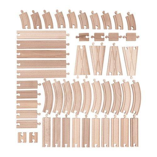 Ikea Set DE 50 pièces en Bois LILLABO