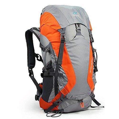 ALUK-All'aperto borsa tracolla alpinismo sospensione impermeabile e traspirante cavallo zaino da viaggio leggero arancia