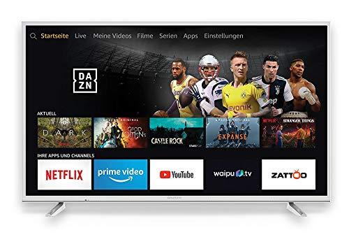 Grundig Vision 7 - Fire TV Edition (49 GUW 7060) 123 cm (49 Zoll) Fernseher (Ultra HD, Alexa-Sprachsteuerung, HDR) weiß