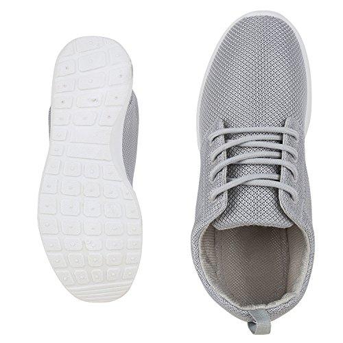 Scarpe Da Corsa Piatte Unisex Da Donna Da Uomo Profilo Suola Scarpe Sportive Sneakers Stringate Scarpe Casual Vanhill Grigio Chiaro Grigio Bianco